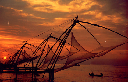 chine fishing net Fort Kochi