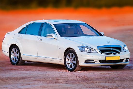 Mercedes Benz S Class taxi