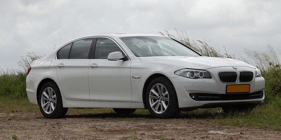 BMW 5 Series taxi